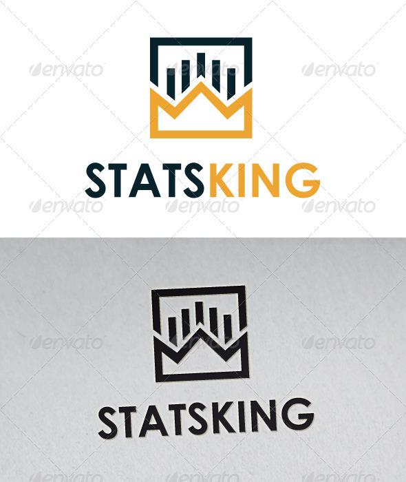 Stats King Logo - Symbols Logo Templates