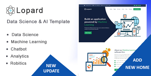 Lopard - Data Science & AI HTML Template