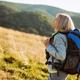 Senior woman hiking - PhotoDune Item for Sale