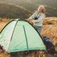 Senior woman camping - PhotoDune Item for Sale