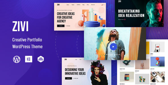 Zivi – Contemporary Creative Agency Theme