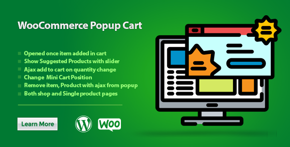 WooCommerce Popup Cart }}