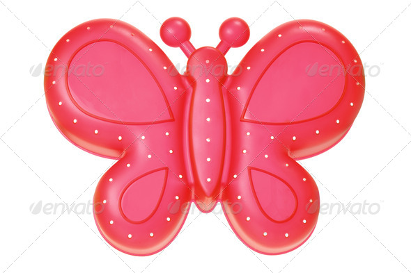 Toy Butterfly - Stock Photo - Images