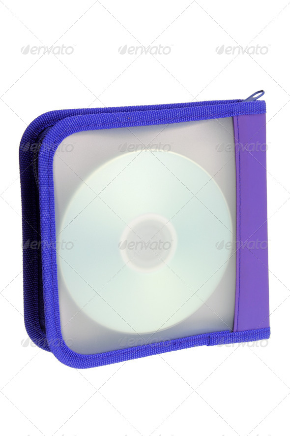 DVD Pouch - Stock Photo - Images