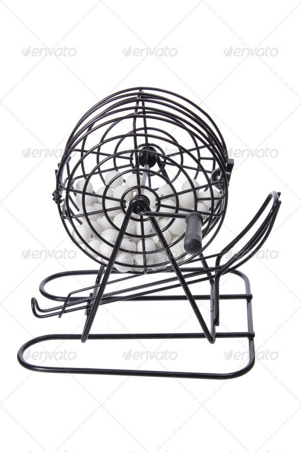 Bingo Game Cage - Stock Photo - Images