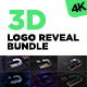 3D Wireframe Logo Reveal Bundle - VideoHive Item for Sale