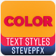 Color Typography - VideoHive Item for Sale