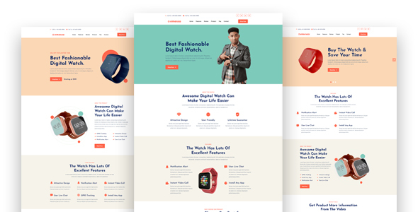 Emexso - Product Landing Page