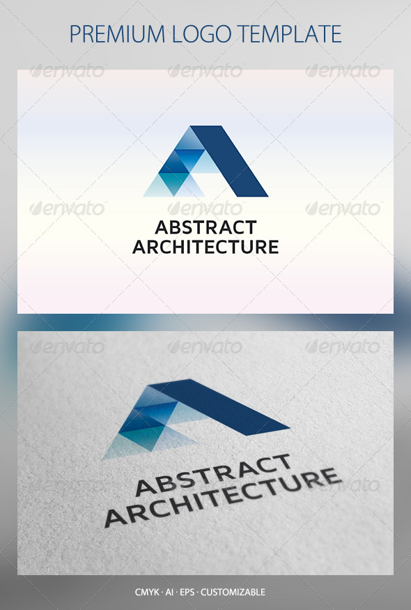 Abstract Architecture Logo Template - Abstract Logo Templates