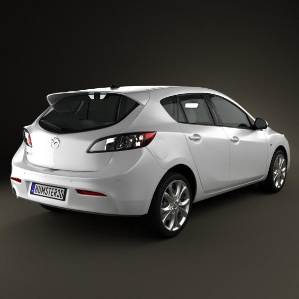 Mazda 3 Hatchback 2011   3DOcean Item For Sale.  Mazda_3_hatchback_2011_590_0001 ...