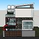 Modern Minimalist House 10x10 With Interior