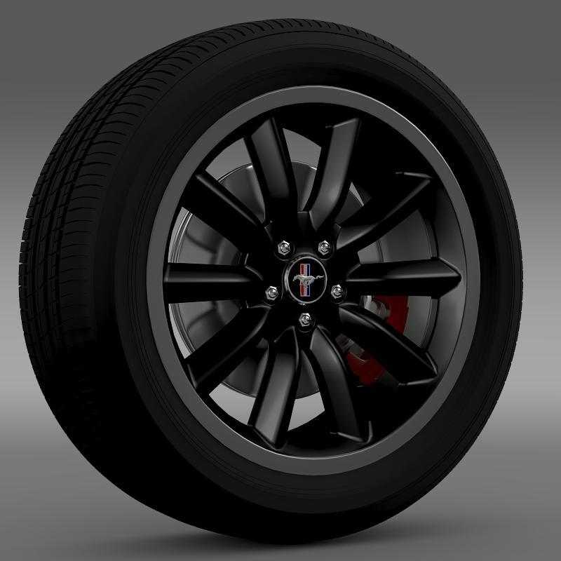 Ford Mustang Boss 302 2012 wheel - 3DOcean Item for Sale