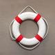 Circular life preserver or lifebuoy on a wall - PhotoDune Item for Sale
