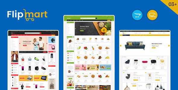 Flipmart – Supermarket OpenCart Theme