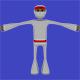 Stickman Ninja White