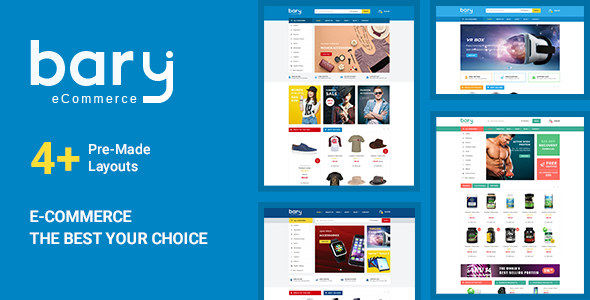 Download Bary - Responsive eCommerce HTML Template }}