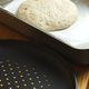 Preparation of classic home made margherita pizza with tomatoe sauce and mozzarella cheese. - PhotoDune Item for Sale