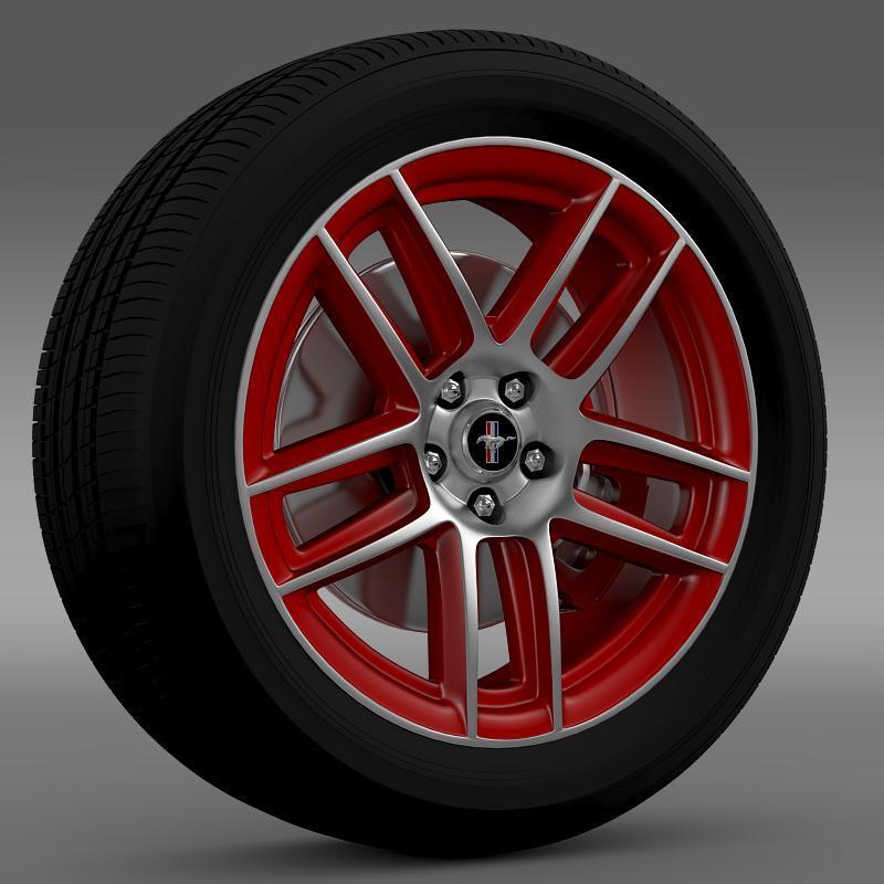 Ford Mustang Boss 302 Laguna Seca 2012 wheel - 3DOcean Item for Sale