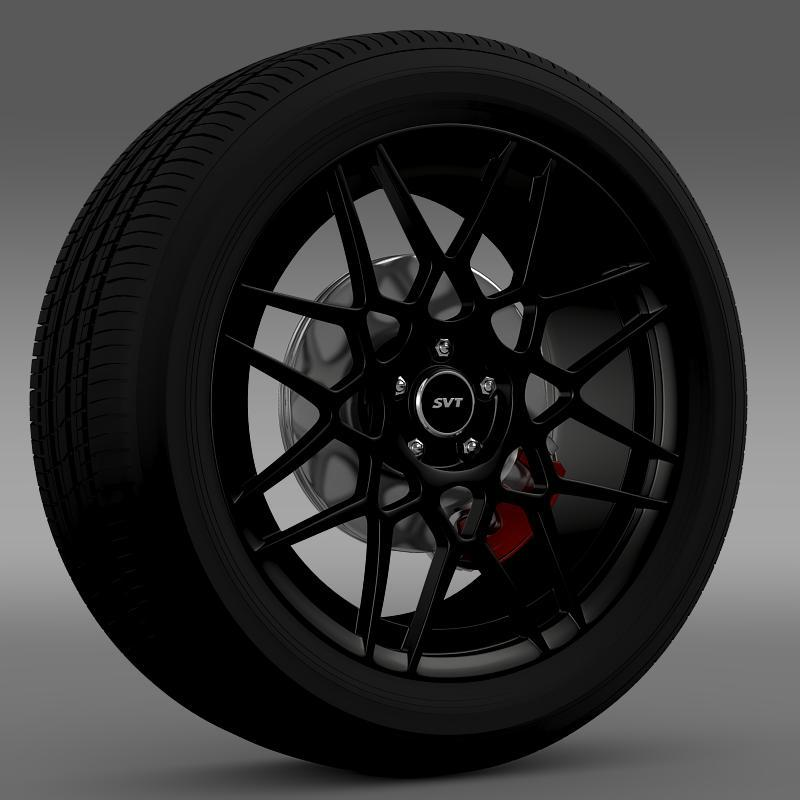 Ford Mustang Shelby GT500 2013 wheel - 3DOcean Item for Sale
