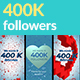 400K Followers Stories - VideoHive Item for Sale
