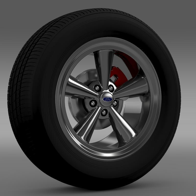 Ford_Mustang GTH 2006 wheel - 3DOcean Item for Sale