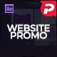 Website Presentation I - Dark Theme - VideoHive Item for Sale