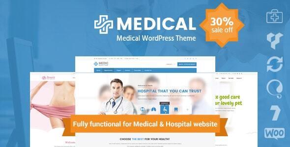 inMedical | Multi-purpose for healthcare WordPress Theme