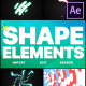 Shapes Elements Pack | After Effects - VideoHive Item for Sale