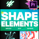 Shapes Elements Pack | Premiere Pro MOGRT - VideoHive Item for Sale