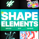 Shapes Elements Pack | FCPX - VideoHive Item for Sale