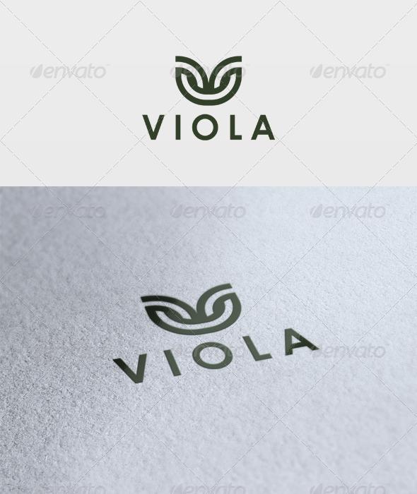 Viola Logo - Letters Logo Templates