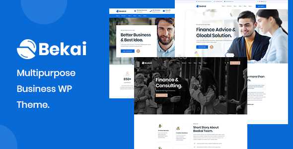 Beakai – Multipurpose Business WordPress Theme