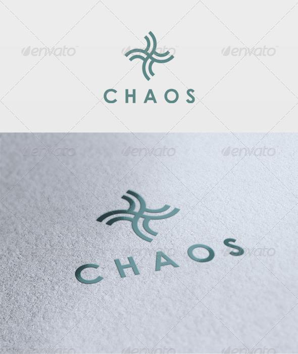 Chaos Logo - Vector Abstract