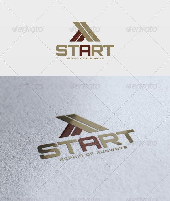 Start Logo - Letters Logo Templates