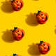 Seamless Jack lanterns pumpkin pattern - PhotoDune Item for Sale