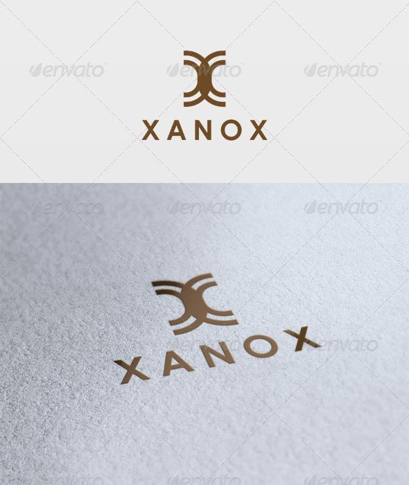 Xanox Logo - Letters Logo Templates