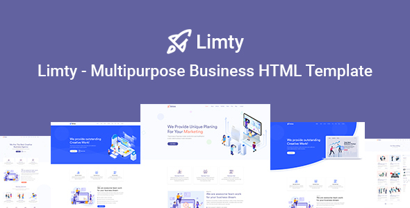 Limty - Business Landing Page HTML Template with RTL