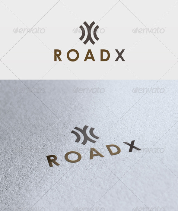 Road X Logo - Letters Logo Templates