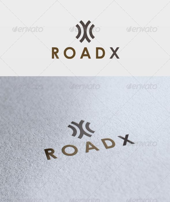 Road X Logo - Letters Logo Templates