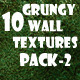 Grungy Wall Textures Pack-2 - GraphicRiver Item for Sale