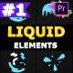 Liquid Circles | Premiere Pro MOGRT - VideoHive Item for Sale