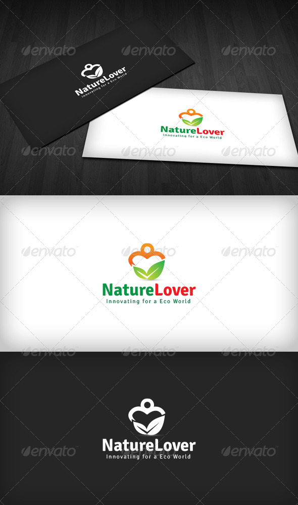 Nature Lover Logo - Nature Logo Templates