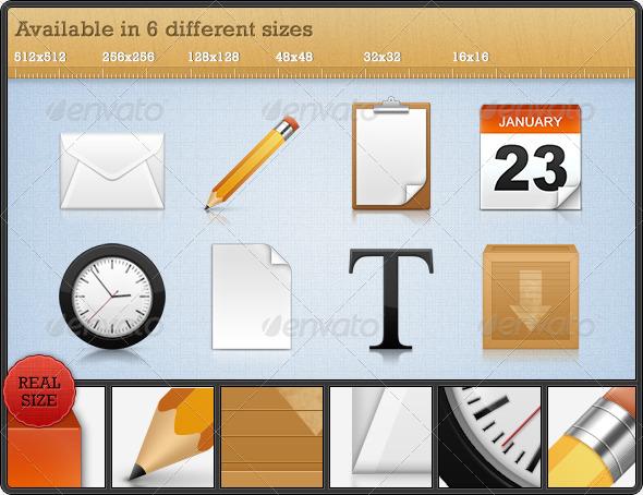High Quality Premium Icons - Set 3 - Web Icons