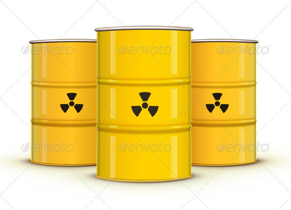 Yellow Metal Barrel - Industries Business