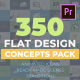 Flat Design Concepts - VideoHive Item for Sale