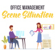 Office management - Scene Situation - VideoHive Item for Sale