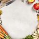 Healthy food cooking background, Vegetable ingredients., copy space - PhotoDune Item for Sale