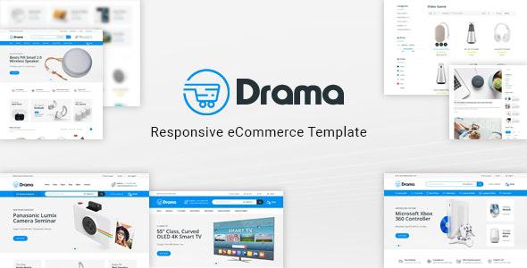 Drama – Responsive Electronics eCommerce HTML Template