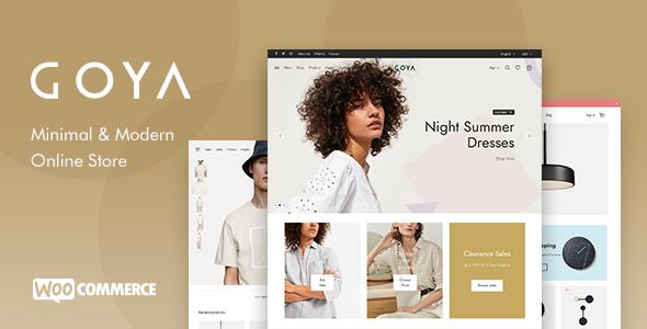 Goya - Modern WooCommerce Theme