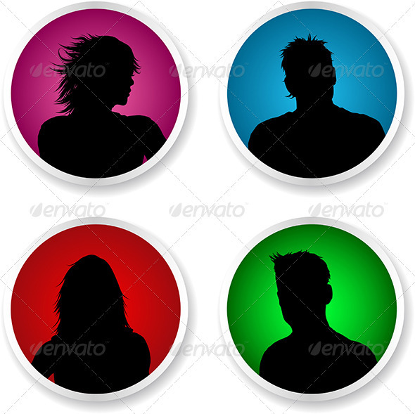 People Avatars - People Characters